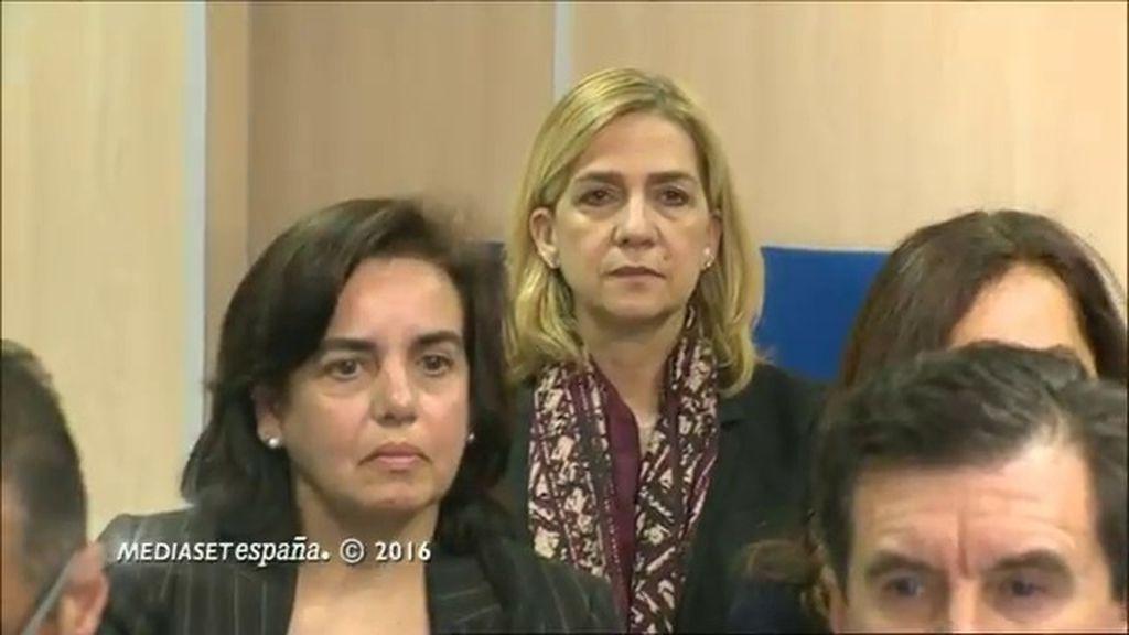 La infanta Cristina y Urdangarin, en el juzgado: comienza el juicio de caso Nóos