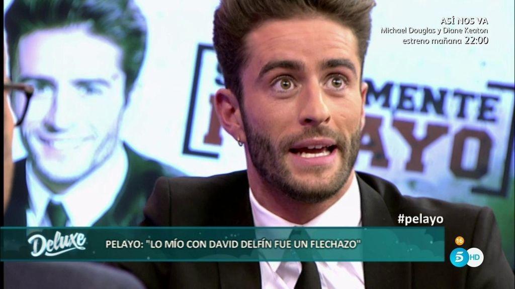 """Príncipe Pelayo: """"Estuve muy enamorado de David Delfín, tuve un flechazo con él"""""""