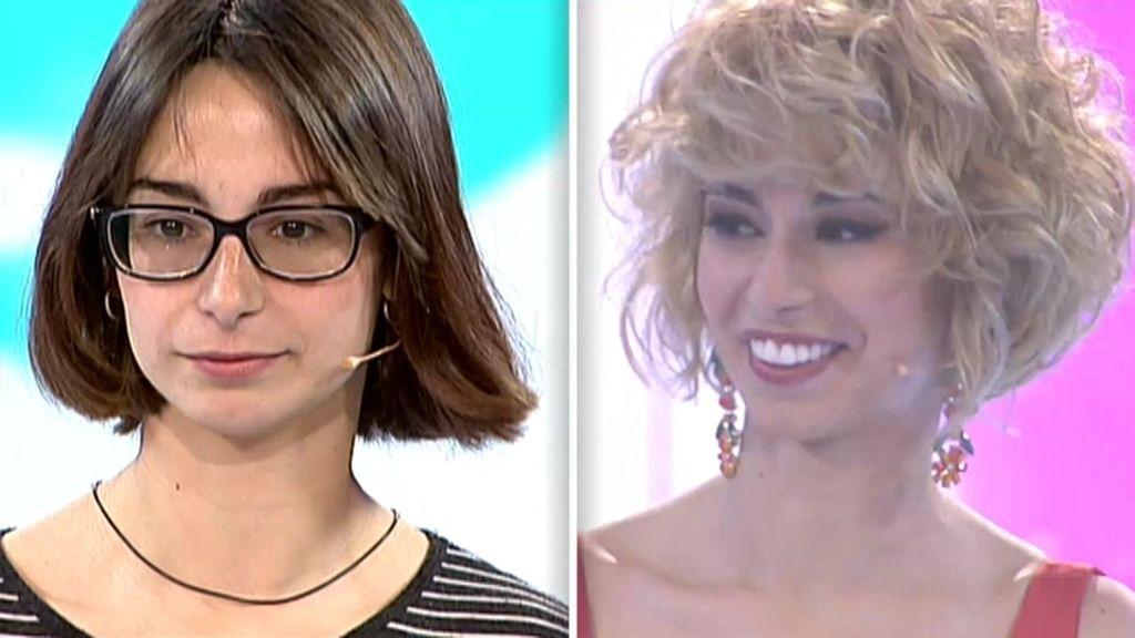 El look de Ariadna: un híbrido entre su madre y Marta Torné