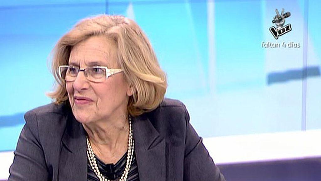 """Manuela Carmena: """"Aguirre ha gestionado una forma de hacer las cosas que ha generado la corrupción que estamos viendo"""""""