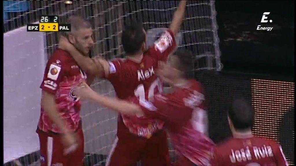 Miguelín marca el gol de la victoria en la final de la Copa del Rey