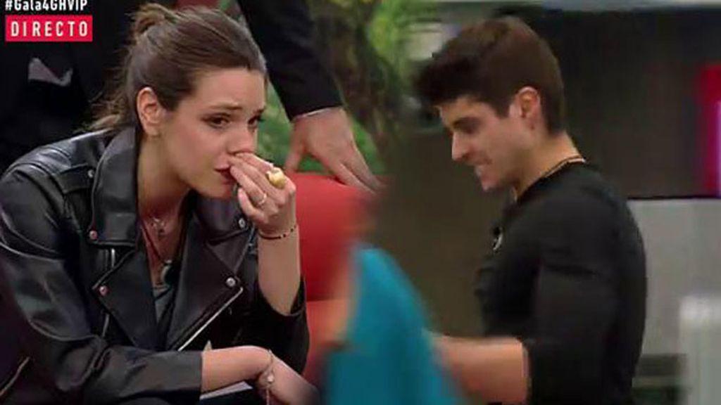 """Las amargas lágrimas de Laura tras la salvación de Javier: """"Felicidades"""""""
