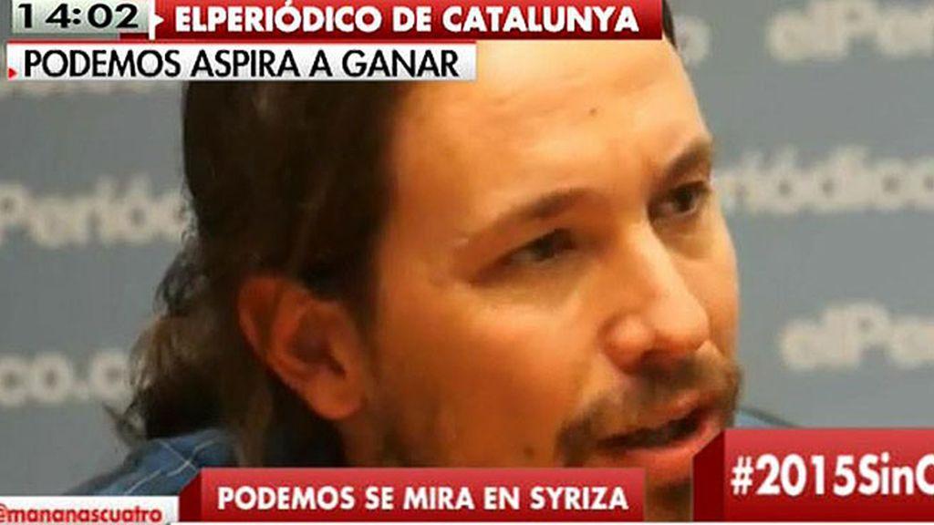 """Pablo Iglesias: """"El poder no teme a la izquierda, teme a la gente"""""""