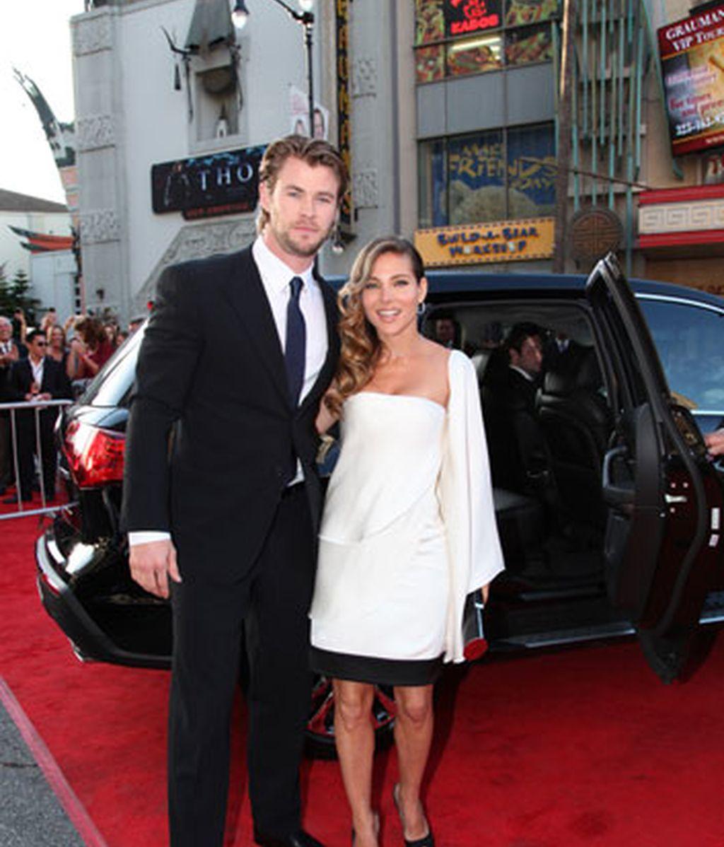 Elsa Pataky arropa a su marido en la premiere de Thor