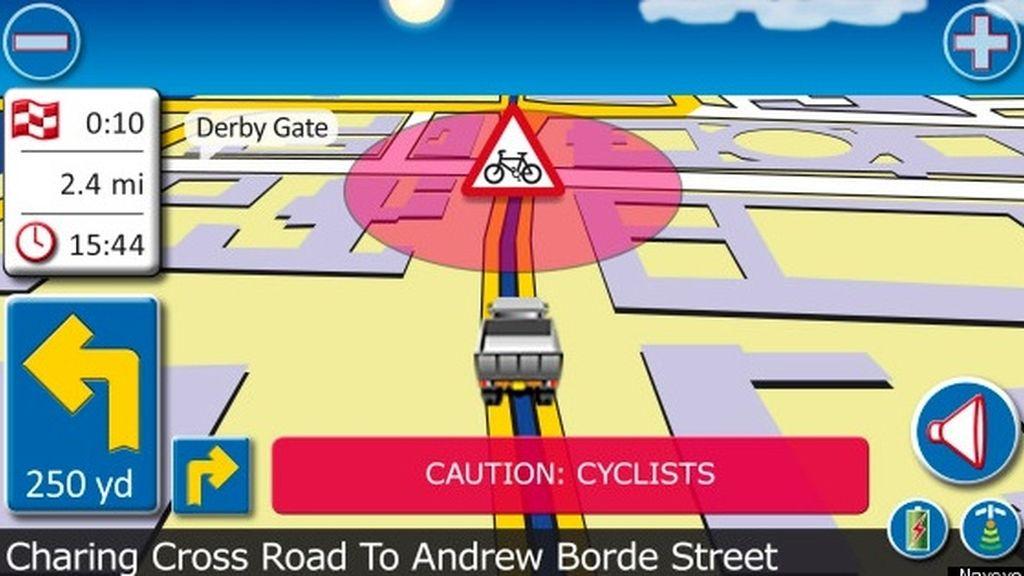 El GPS que protege a los ciclistas