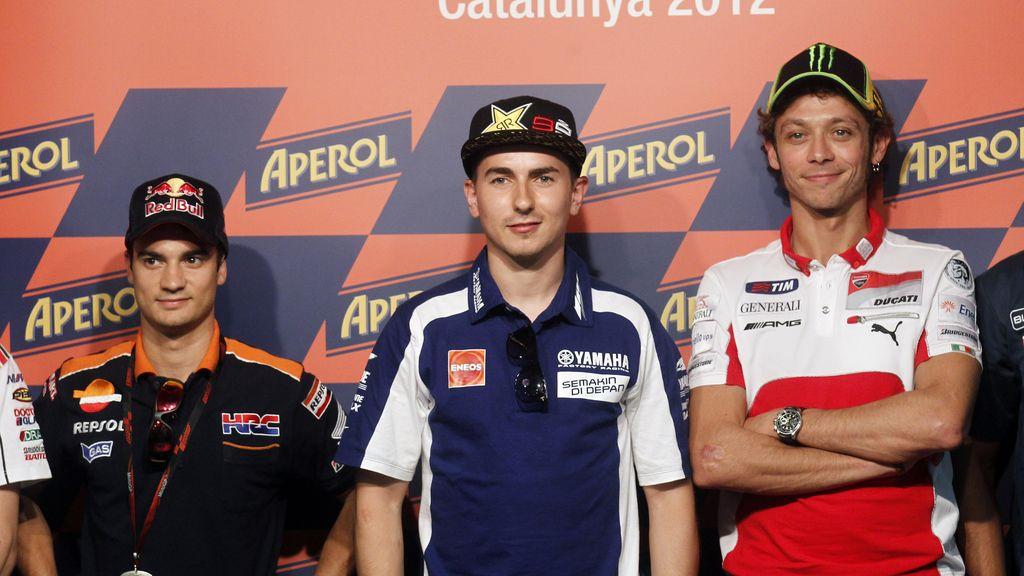 Pedros, Lorenzo y Rossi