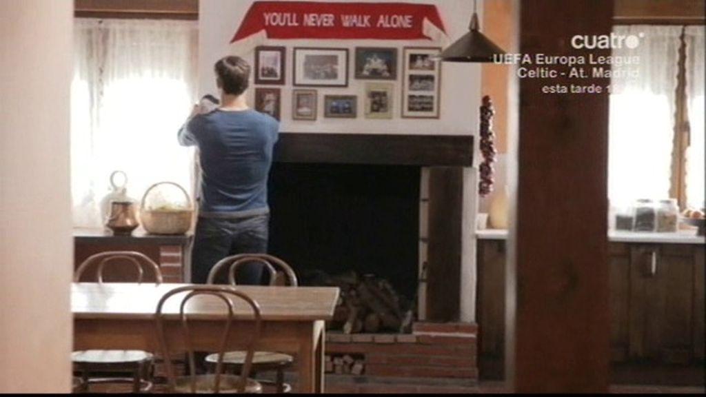 Xabi Alonso y Puyol comiendo como amigos