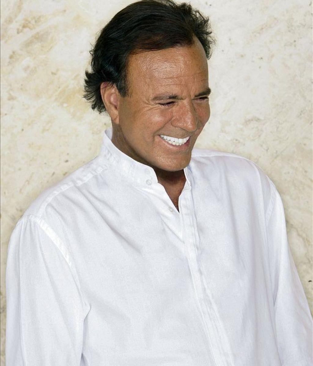 El cantante Julio Iglesias. EFE/Archivo