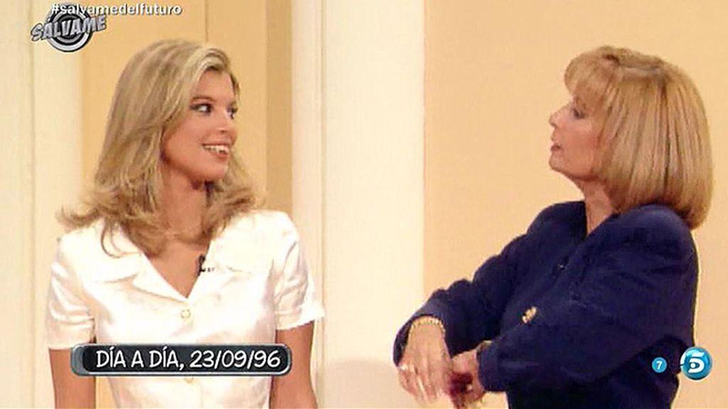 Así fue la primera aparición de Terelu Campos en Telecinco