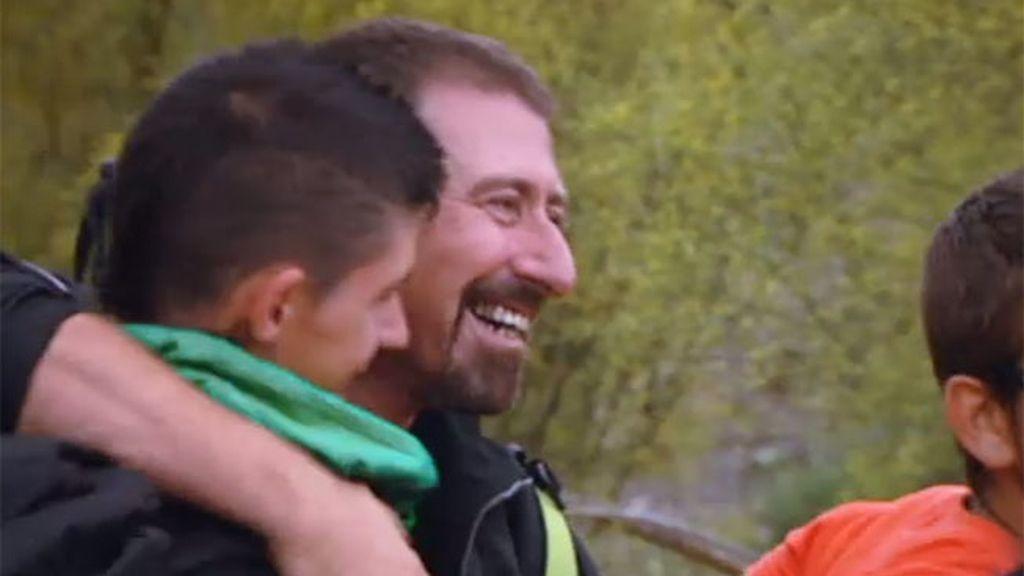 Los chicos recuperan la sonrisa