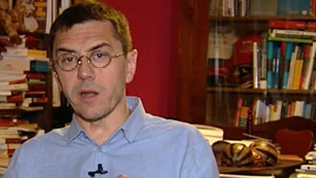 """Monedero: """"Nos morimos de vergüenza viendo la soledad de Rajoy en Bruselas"""""""