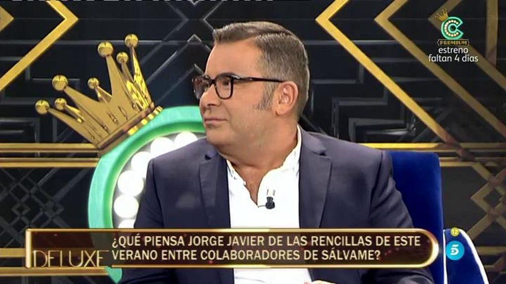 """Jorge Javier: """"Yo creo que Rosa Benito volverá a sentarse en el plató de Sálvame"""""""