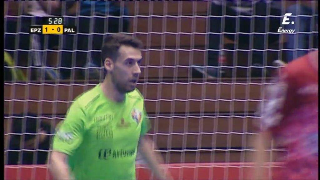 El Palma Futsal acaricia el gol en tres ocasiones