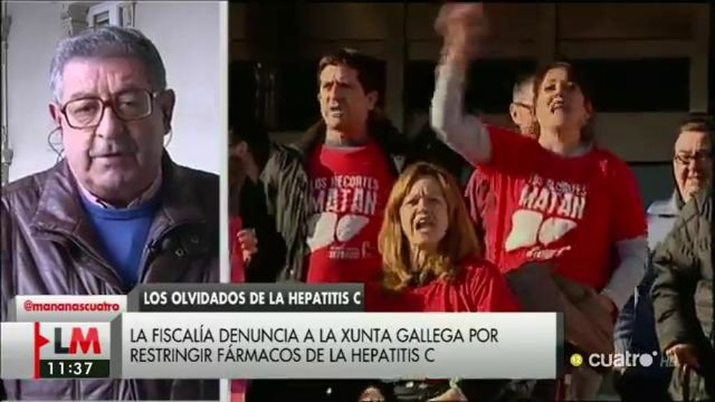 """Manuel García: """"A mi mujer no me la pueden devolver, pero que sirva para otros enfermos de Hepatitis"""""""