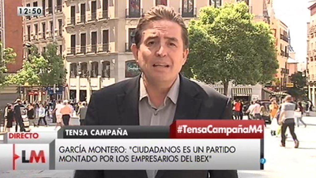"""""""Las élites económicas han ayudado al PP a inventarse un partido, Ciudadanos"""""""