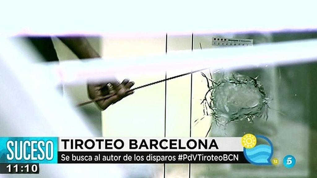 La policía busca al autor de un tiroteo en el centro de Barcelona
