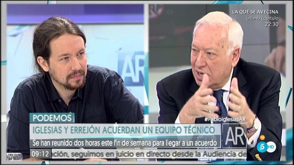 """Iglesias: """"Íñigo y yo somos amigos, creo que la gente agradece que no haya hipocresía"""""""