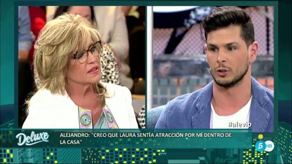 """Alejandro, sobre Laura M.: """"Muchas veces me recordaba a la madre de mi hijo"""""""