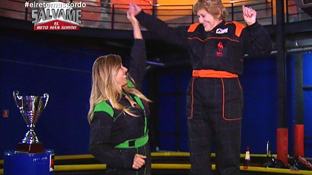 Carmen consigue subirse a lo más alto del pódium