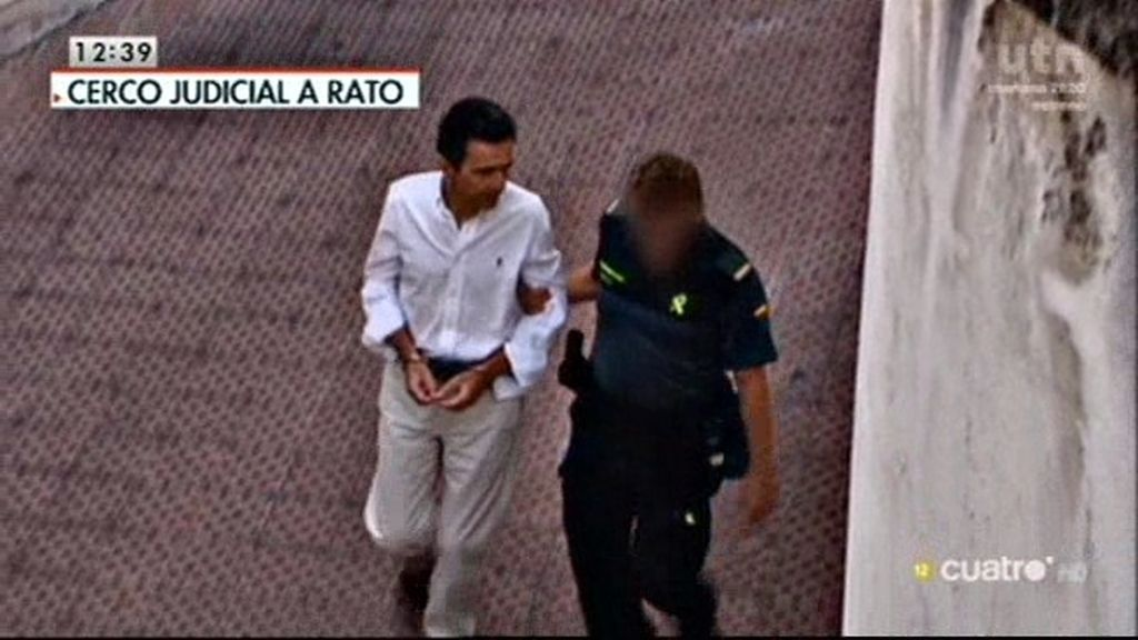 Alberto Portuondo, el supuesto testaferro de Rato, continuará en prisión por riesgo de fuga