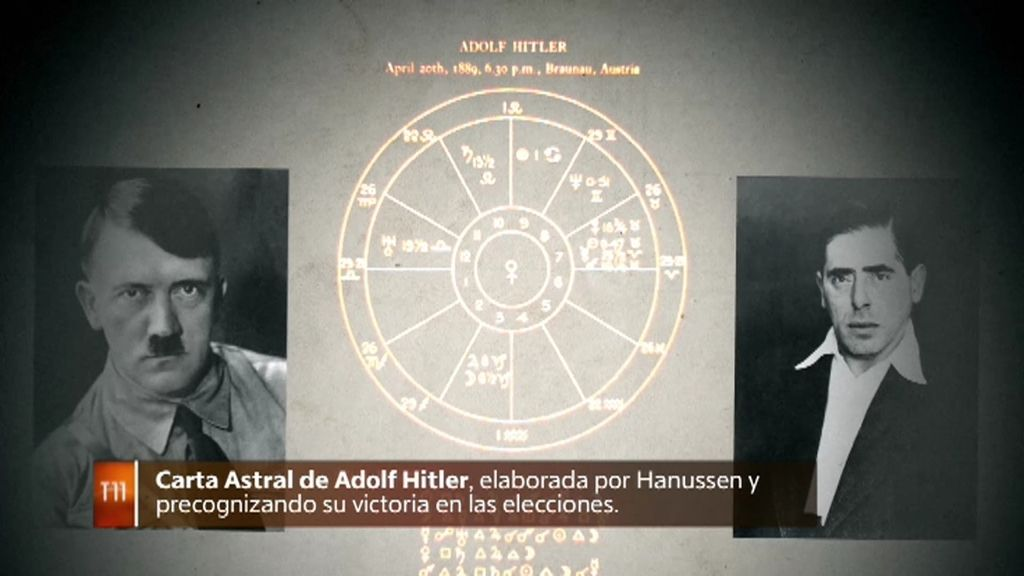 El mentalista Hanussen anunció el ascenso al poder de Hitler un año antes de que ocurriera