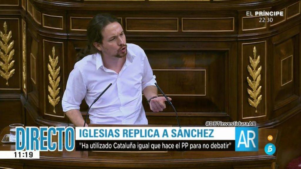 "Pablo Iglesias, a Pedro Sánchez: ""Cuídese de la naranja mecánica"""