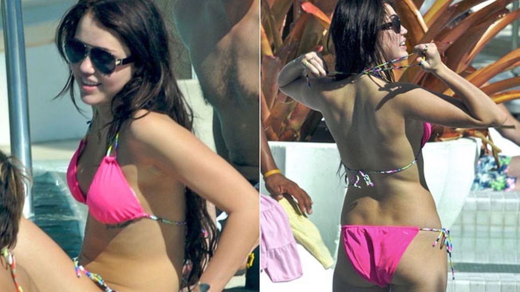 Los bikinis de Miley