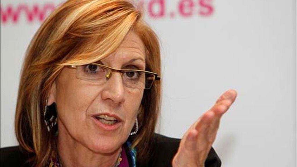 Rosa Díez, de UPyD, en una imagen de archivo.