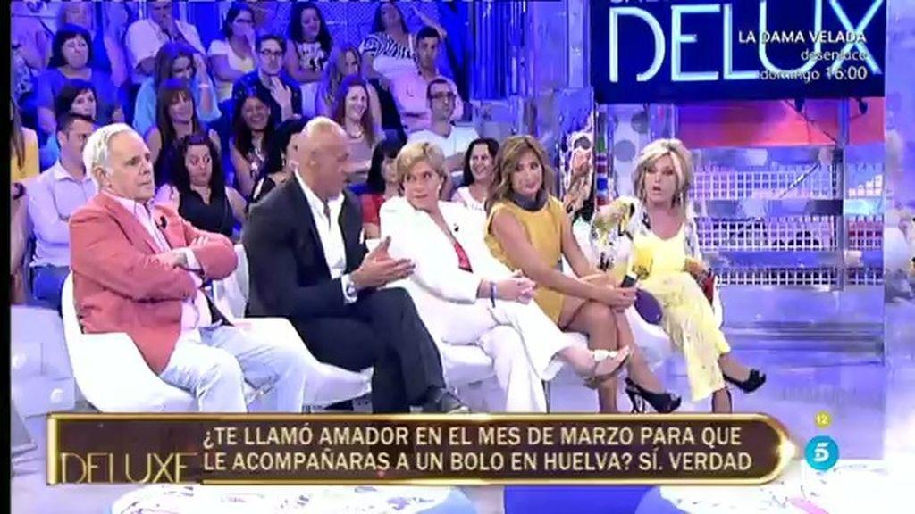 "Marisa: ""Amador Mohedano me llamó en marzo para que le acompañara a un bolo"""