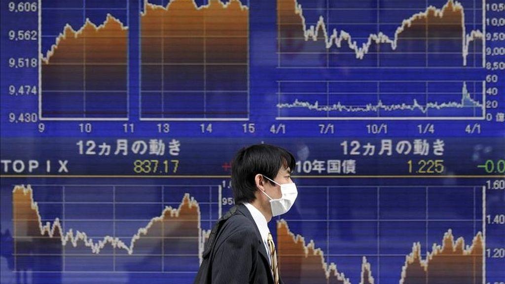 La Bolsa de Tokio cerrada por festivo. EFE/Archivo