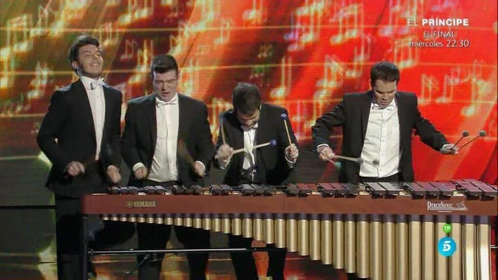 Abmiram Quartet mezcla la música y el humor, haciendo un espectáculo único