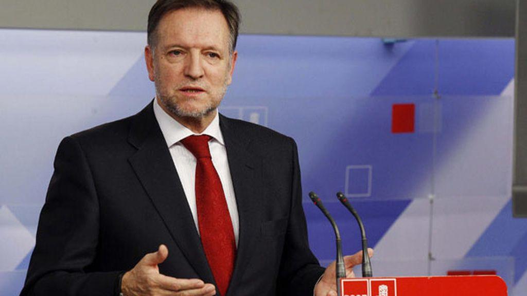 Marcelino Iglesias, secretario de organización del PSOE