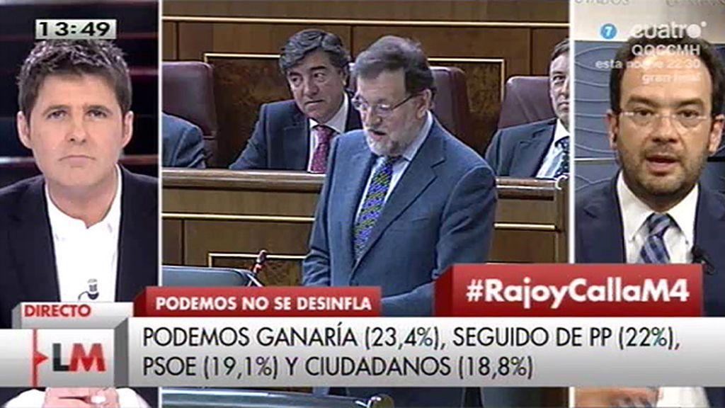"""A. Hernando, de Rajoy: """"No me extraña que no quiera dar explicaciones porque hay mucha basura"""""""