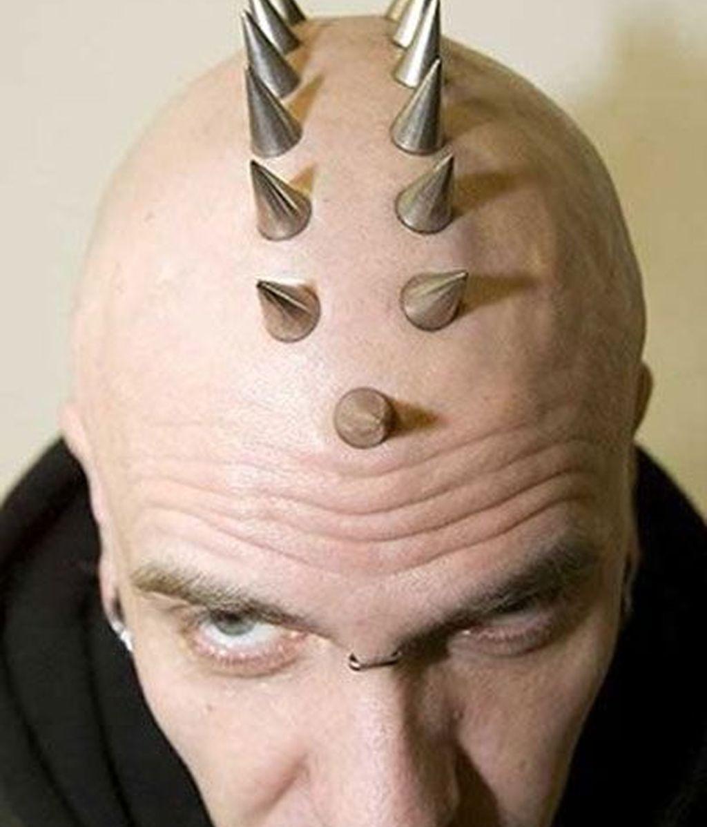 Pinchos en la cabeza