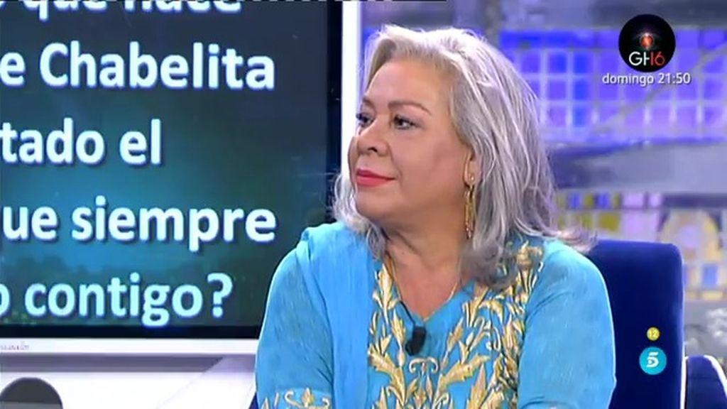 "Carmen Gahona: ""Chabelita no me habla porque está influenciada por algún familiar"""