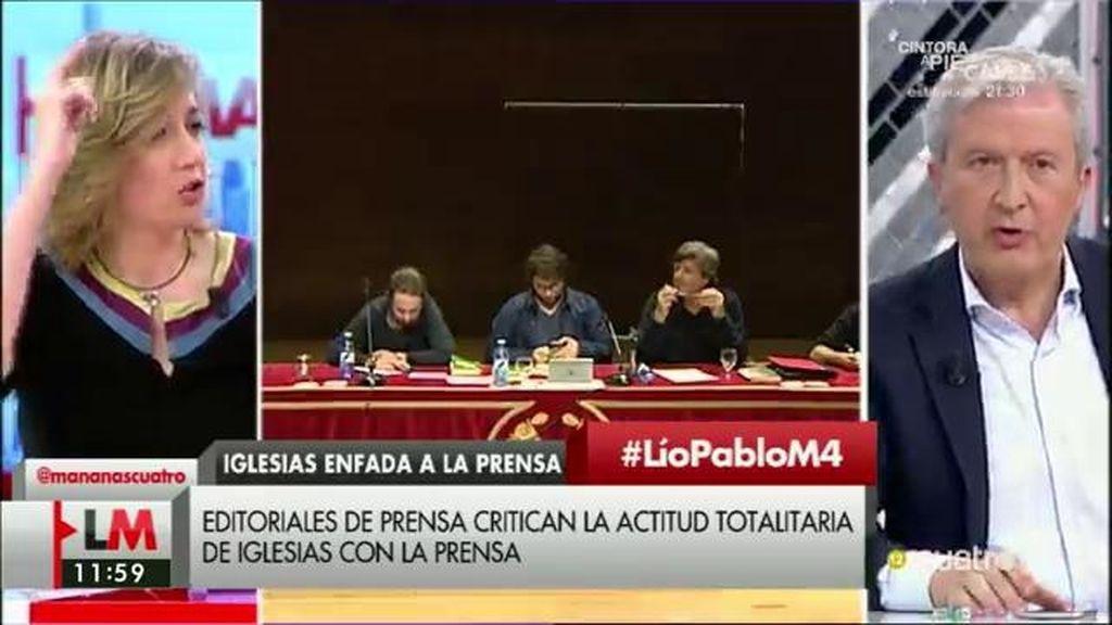 """Tania Sánchez: """"Mientras el poder económico controle los medios, no hay sistema democrático"""""""