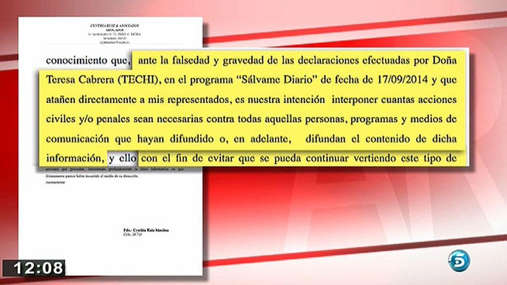 Isabel Pantoja y Kiko Rivera demandarán a Techi
