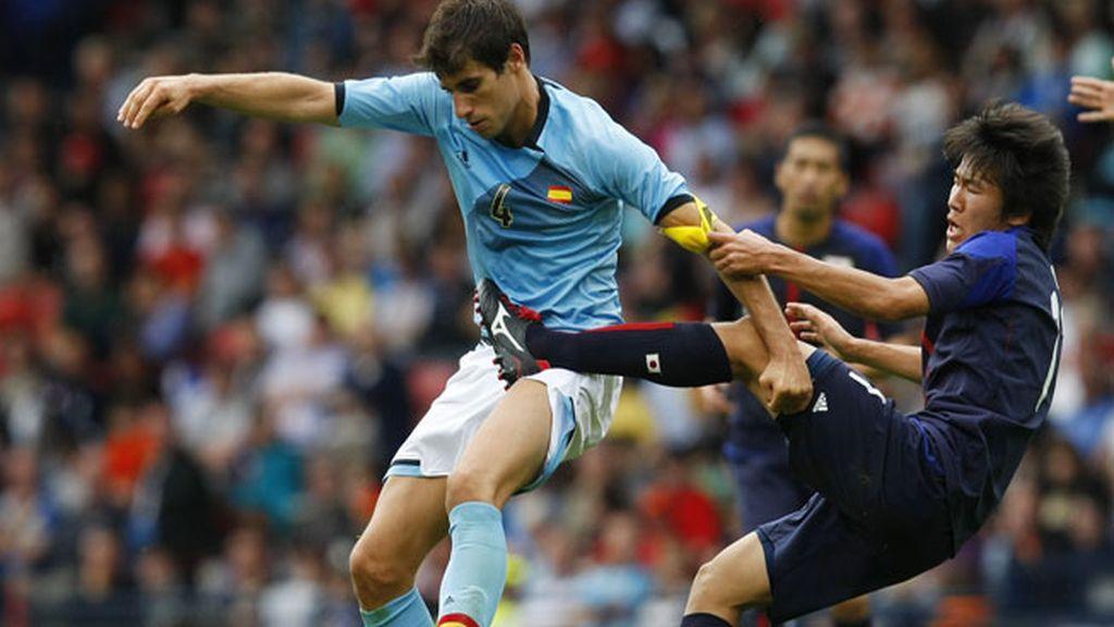 España pierde 0-1 frente a Japón
