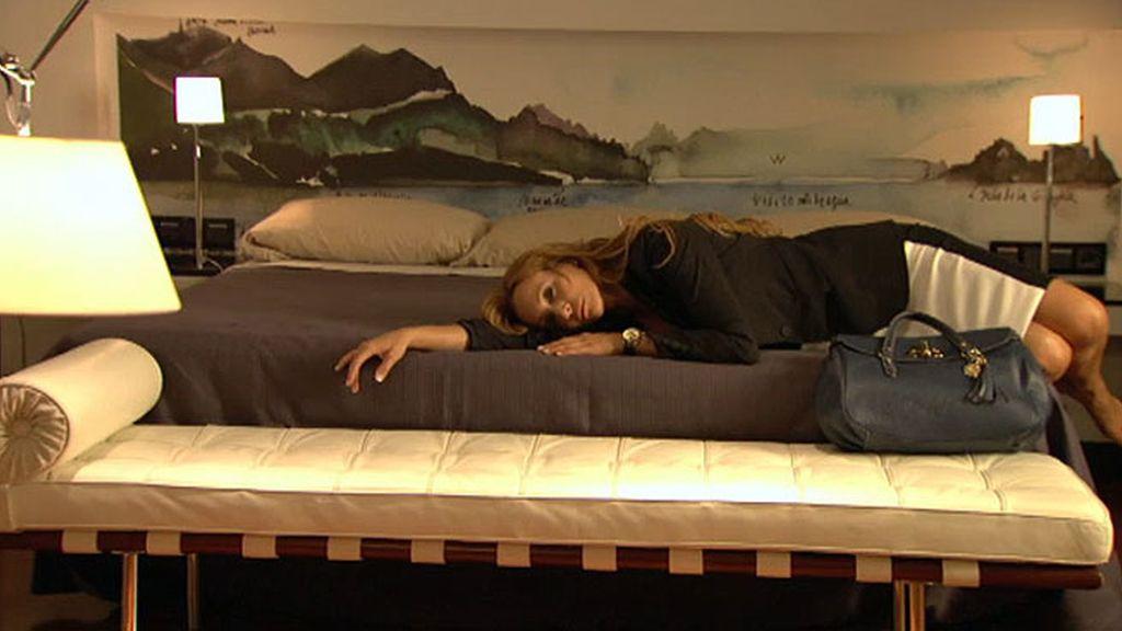 Manuela se derrumba tras la visita de su familia