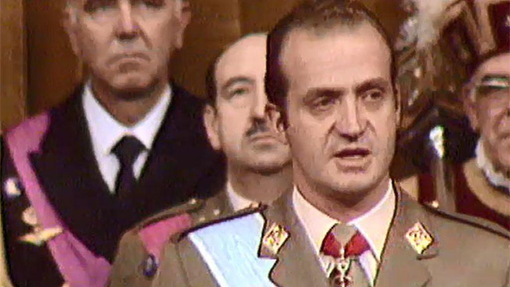 La coronación de don Juan Carlos
