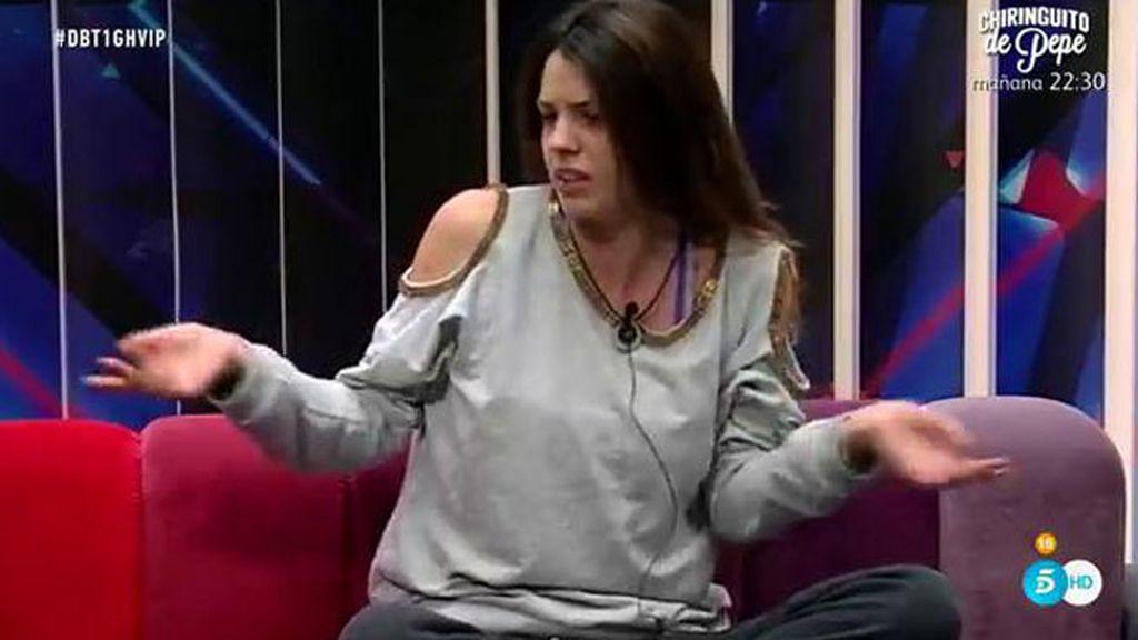 """Laura Matamoros: """" Me hace gracia porque Javier es un 'pistos'"""""""