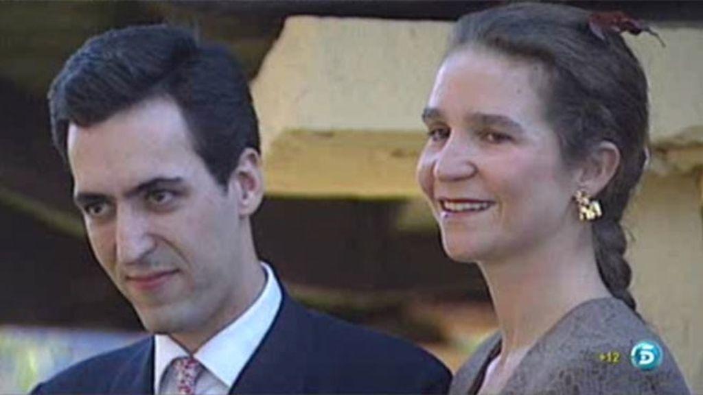 La pareja se conoció en París y Jaime fue el que conquistó a la Infanta