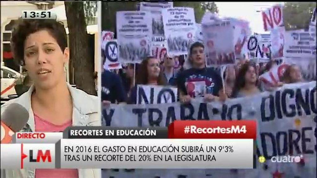 """Ana García, sindicato de estudiantes: """"Hace mucho que no creemos en milagros y mentiras"""""""