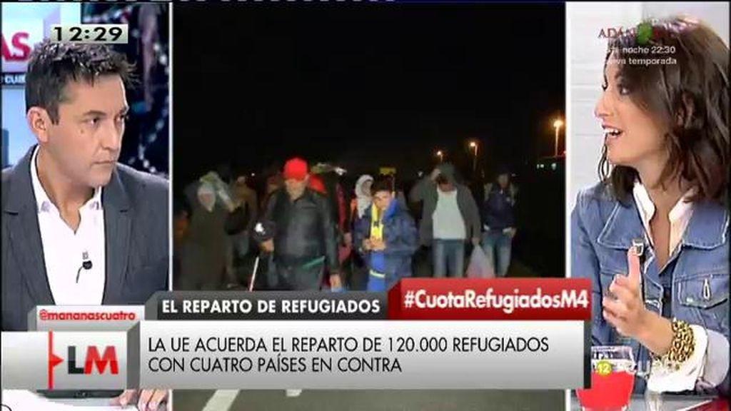"""Andrea Levy, sobre la crisis de los refugiados: """"Pedimos que haya una política homogénea"""""""