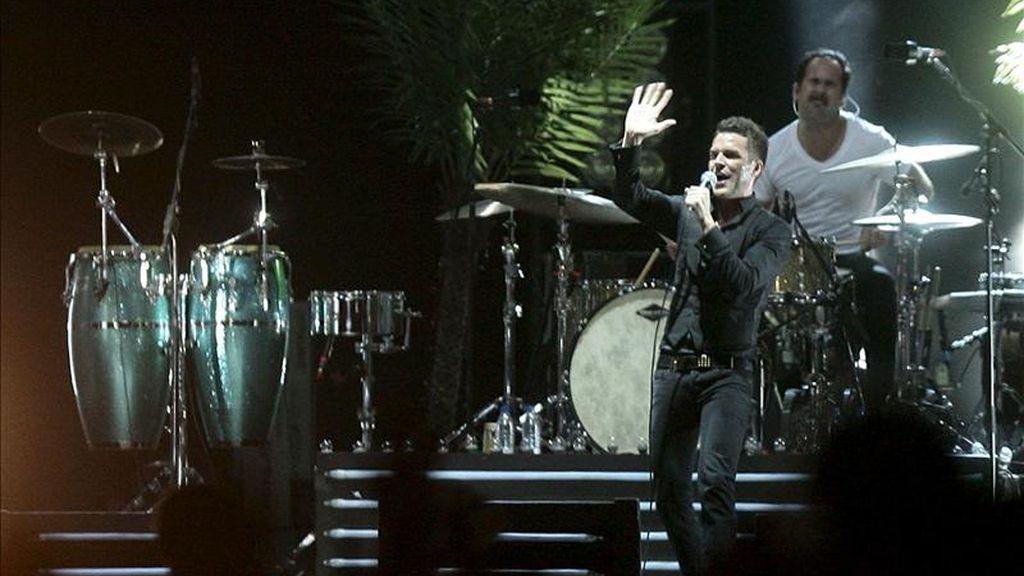 Concierto de la banda de rock norteamericana The Killers. EFE/Archivo