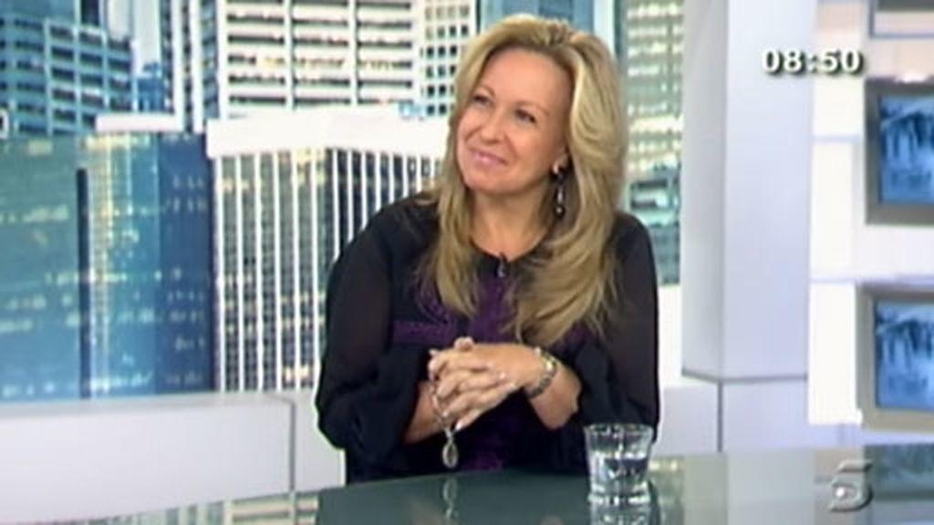 La ministra de Asuntos Exteriores, Trinidad Jiménez