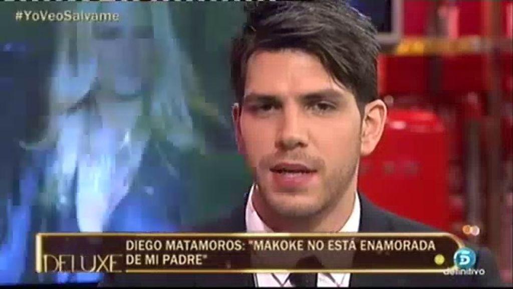 "Diego Matamoros: ""Makoke no está enamorada de mi padre. No le deja ser feliz"""