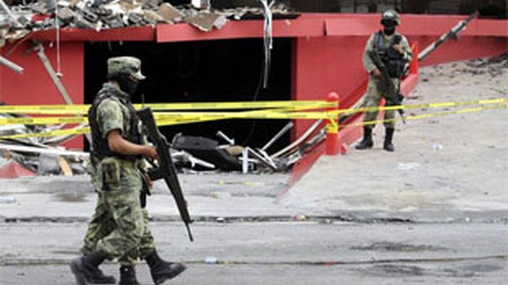 El Ejército tratará de velar por la seguridad en Monterrey. Foto: Reuters.