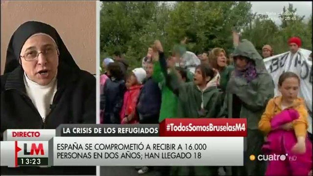 """Sor Lucía: """"Lo más fácil es aumentar el odio para no asumir responsabilidades"""""""