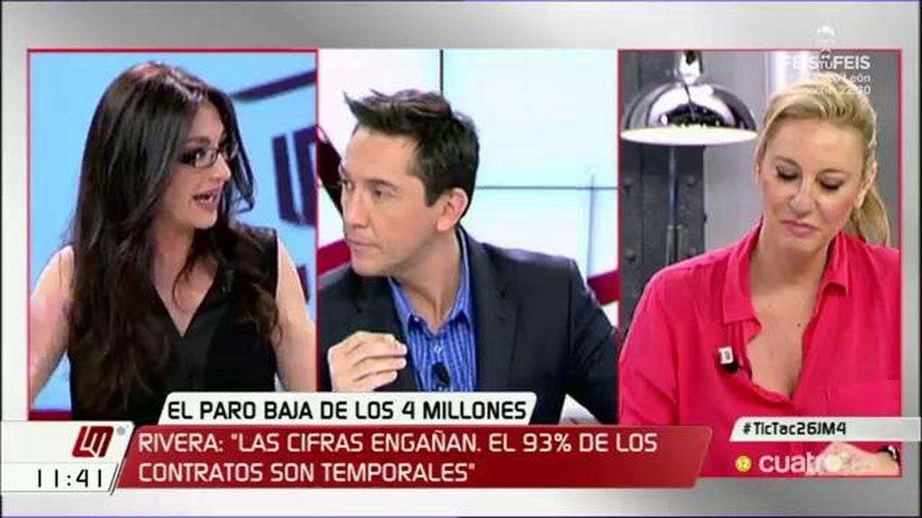 """Carolina España (PP): """"El PSOE es el campeón del paro"""""""